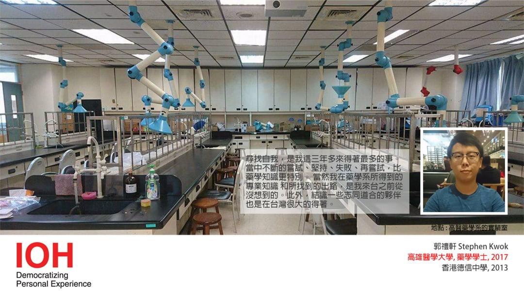 Study in Taiwan| Stephen Kwok 郭禮軒